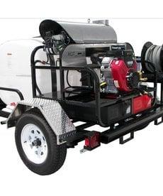 PRESSURE-PRO Pressure Pro Pro-Super Skid Tow-Pro Trailer Series Pressure Washer 4000 PSI @ 5.5 GPM Honda Gas