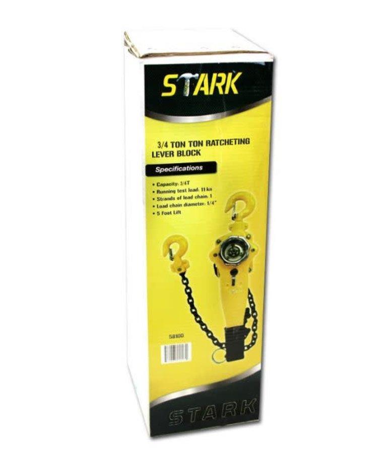 STARK Stark Hoist Lever Block 5' Lift 3/4T