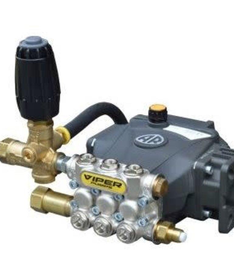 PRESSURE-PRO Pressure-Pro Slap Happy Plumbed Pumps 2500 PSI 2.0 GPM Electric Flange Hollow Shaft