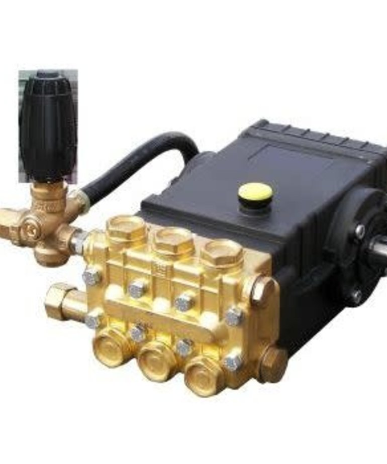 """PRESSURE-PRO Pressure-Pro Slap Happy Plumbed Pumps 3500 PSI 5.5 GPM Gear Reduced For 1"""" Shaft Engines"""