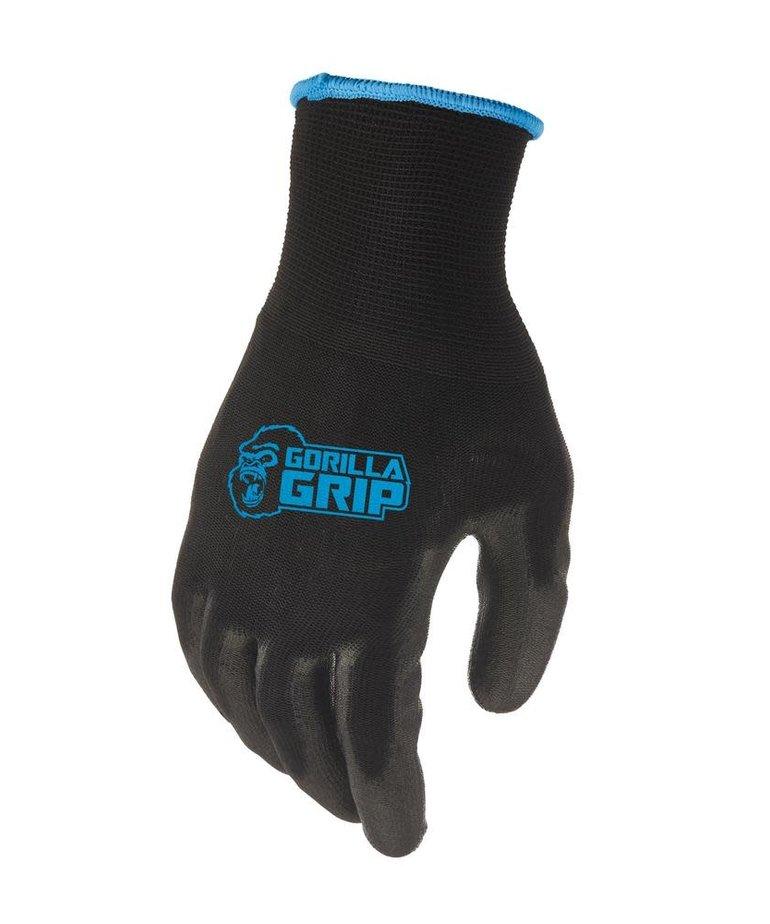 GREASE MONKEY Grease Monkey Gorilla Grip Large Gloves 3-Pair