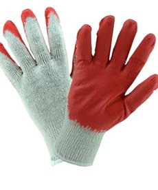 WEST CHESTER West Chester Latex Coated Large Knit Gloves 6-Pack