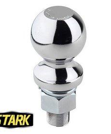 "STARK Stark Ball Hitch 1-7/8"" 1"" Shank Rated 3500 LBS"