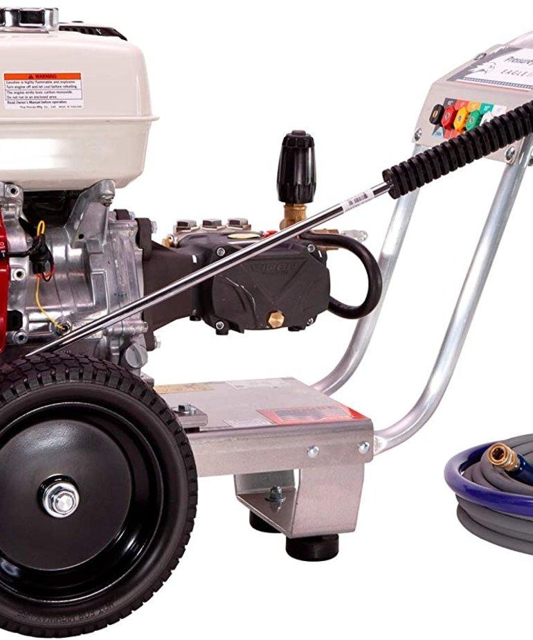 PRESSURE-PRO Pressure Pro Eagle II Series Pressure Washer Cart 4200 PSI @ 4 GPM Honda Direct Drive Gas