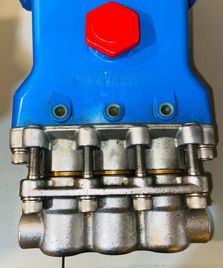 PRESSURE-PRO Pressure-Pro Cat Pumps 1000 PSI 25 GPM Industrial Solid Shaft Pump