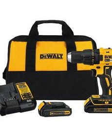 "DEWALT Dewalt 1/2"" Drill Cordless 2 Batteries and Charger"