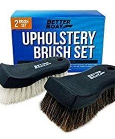 BETTER BOAT Better Boat Upholstry Brushes 2 Brush Set