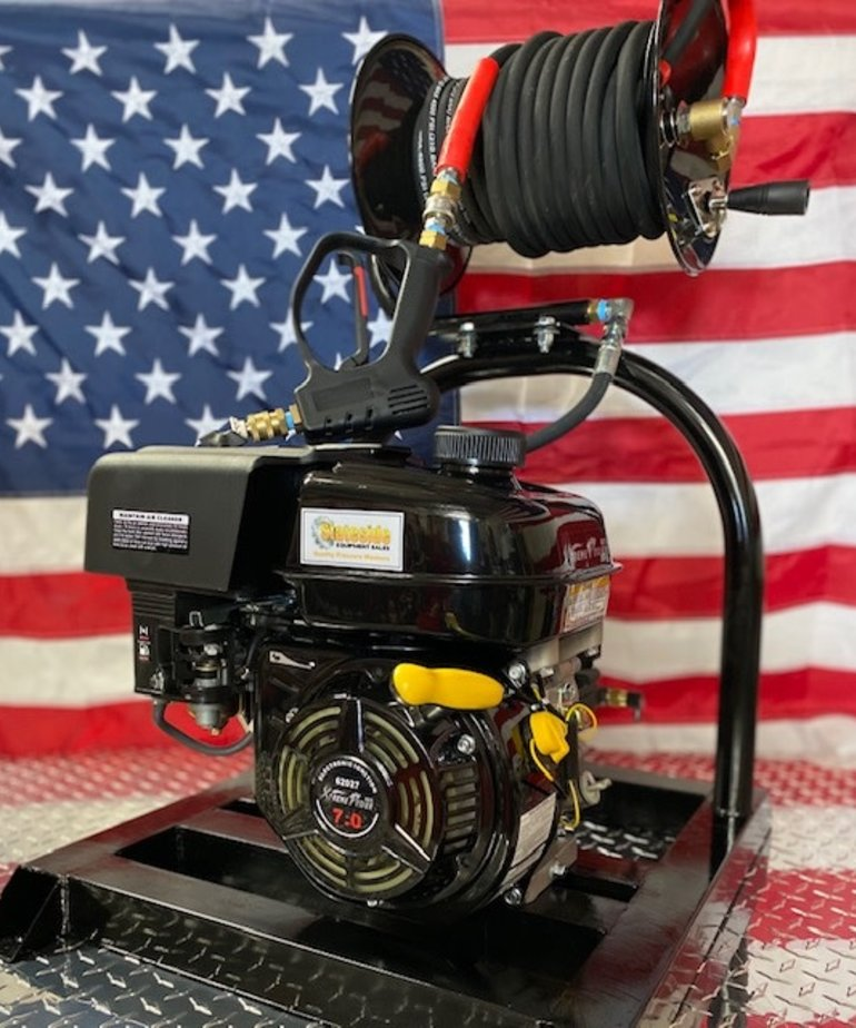 STATESIDE EQUIPMENT Stateside Econo All in One Pressure Washer Xtreme Gas High Performance Pump