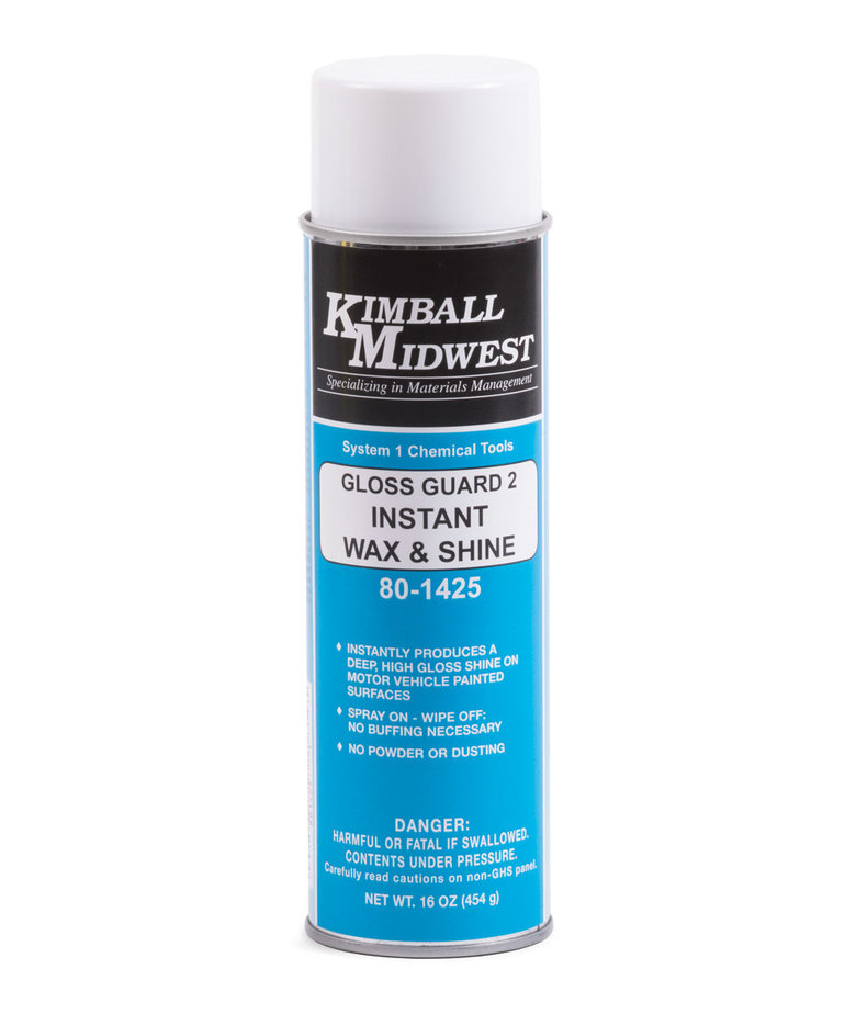 KIMBALL MIDWEST Kimball Midwest Gloss Guard 2 Instant Wax & Shine 16oz
