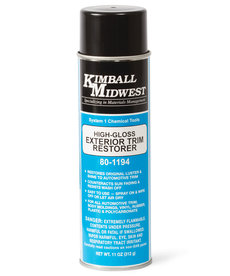 KIMBALL MIDWEST Kimball Midwest High-Gloss Exterior Trim Coating 11oz