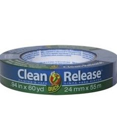 DUCK Duck Clean Release 1.41in x 60yard Blue Single