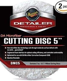 "MEGUIAR'S Meguiar's Detailer Microfiber Cutting Disc 5"" 2-pack"
