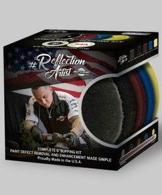"""BUFF and SHINE Buff and Shine Reflection Artist Complete 6"""" Buffing Kit 5pc"""