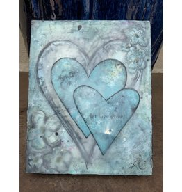 Annette Colby - Painter Let Love Grow