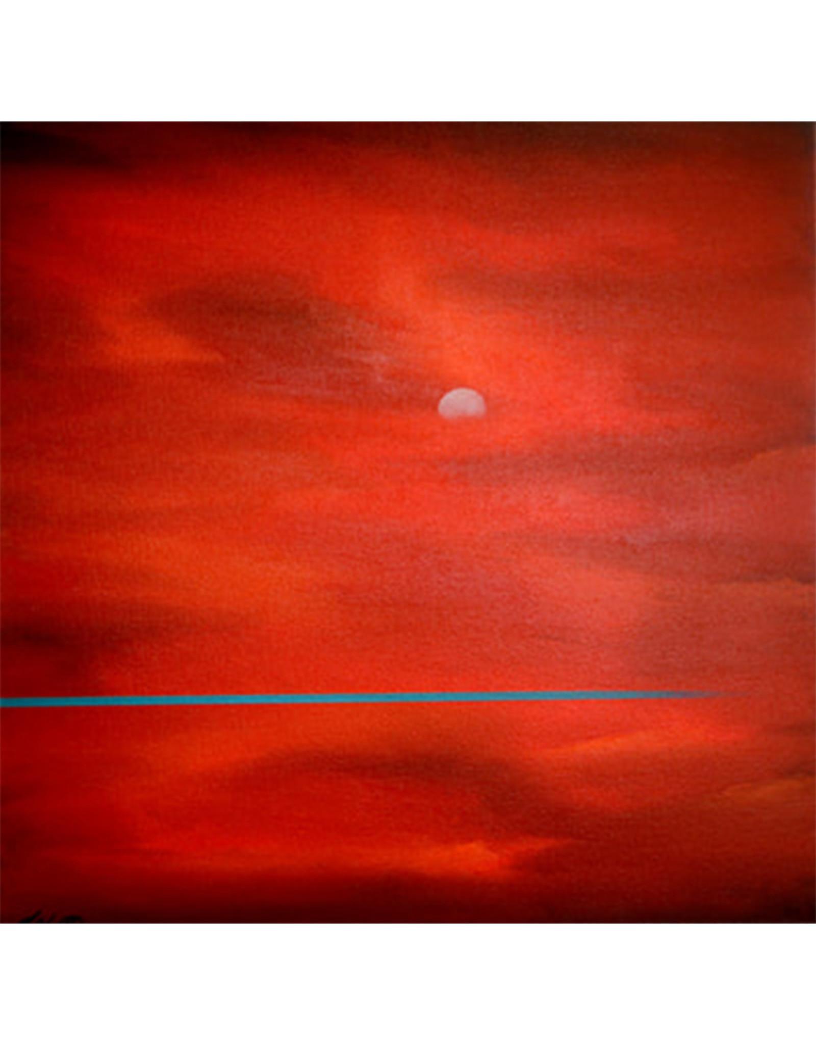 Ed Wyatt Blue Infinity - Acrylic / Oil on Canvas - Ed Wyatt