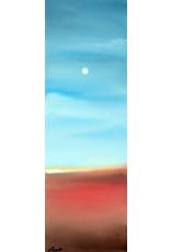 Ed Wyatt Summer Moon - Oil on Canvas - Ed Wyatt
