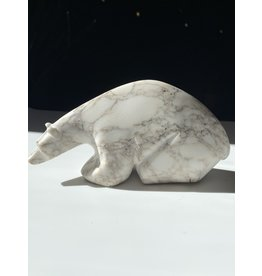 Michael Connor Alabaster Bear Small Medium #3