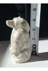 Michael Connor Alabaster Bear Small #2 - Michael Connor