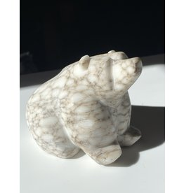 Michael Connor Alabaster Bear Small #3