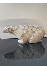Michael Connor Alabaster Bear Medium #4 - Michael Connor