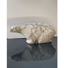 Michael Connor Alabaster Bear Medium #4