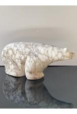 Michael Connor Alabaster Bear Medium #4 - Michael Connor