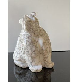 Michael Connor Alabaster Bear Medium #3