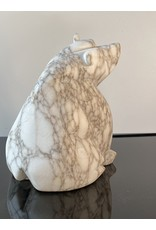 Michael Connor Alabaster Bear Medium #3 - Michael Connor