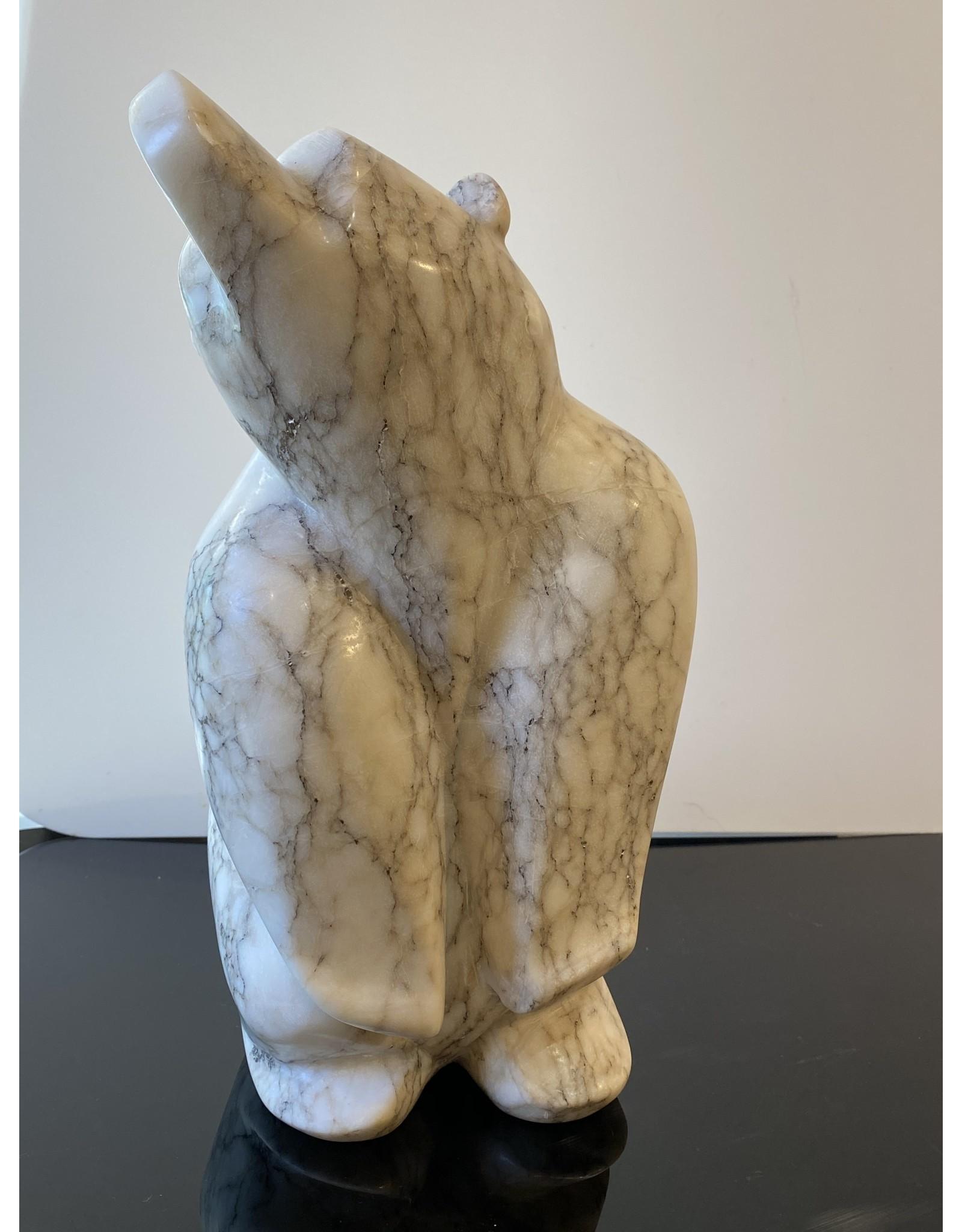 Michael Connor Alabaster Bear Large #1 - Michael Connor