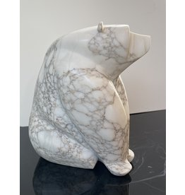 Michael Connor Alabaster Bear Large #2