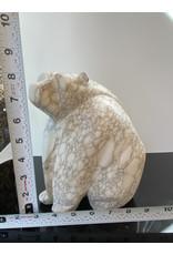 Michael Connor Alabaster Bear Large #2 - Michael Connor