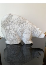 Michael Connor Alabaster Bear Large #3 - Michael Connor