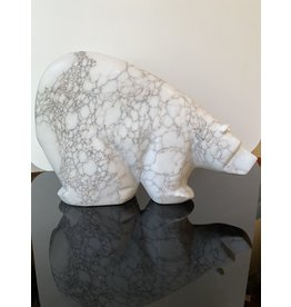 Michael Connor Alabaster Bear Large #3