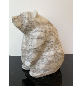 Michael Connor Alabaster Bear Large #5