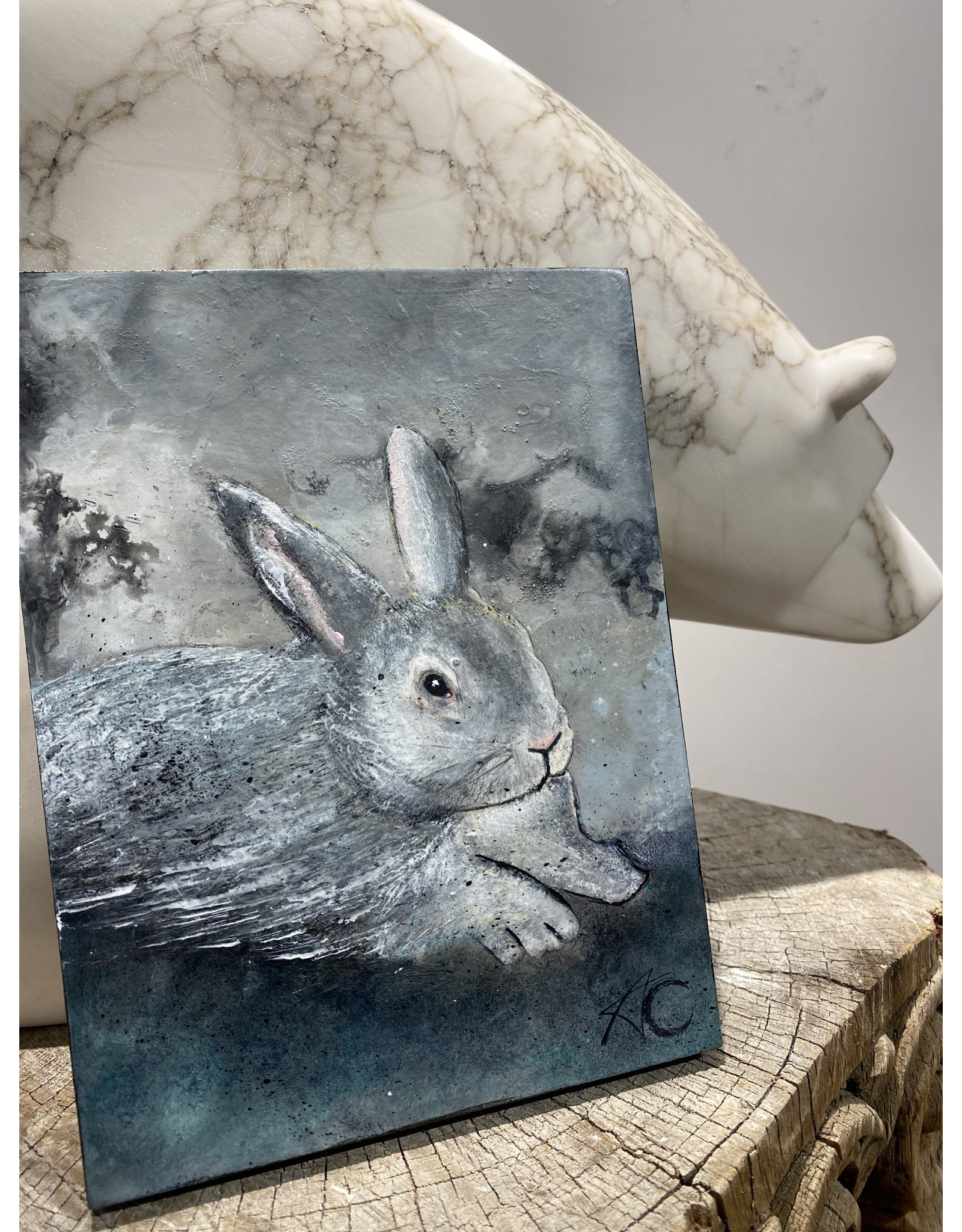 Annette Colby - Painter Bunny, Bunny - Annette Colby