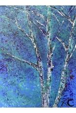 Annette Colby - Painter Aspen Skies 1 - Annette Colby