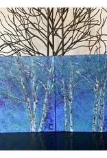 Annette Colby - Painter Aspen Skies 2 - Annette Colby