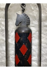 Allen Swabenbauer Horse Head & Red Diamonds - Allen Swabenbauer