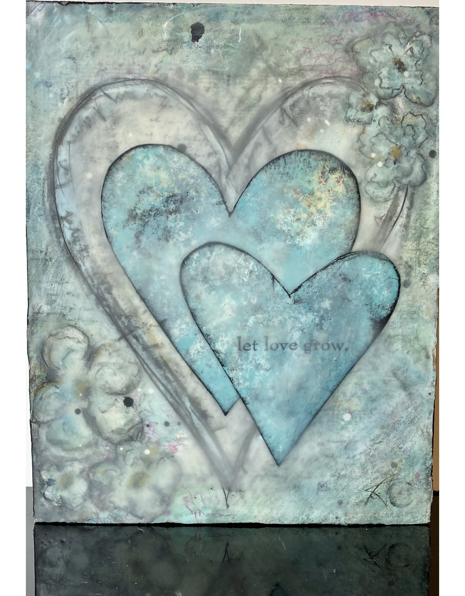 Annette Colby - Painter Let Love Grow - Annette Colby