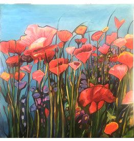 Tamara Schiltz Flowers of the Field Painting
