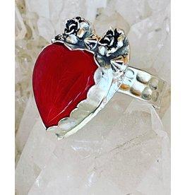 Annette Colby - Jeweler Rosarita Heart Ring Size 8