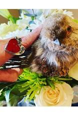 Annette Colby - Jeweler Rosarita Heart Ring Size 8 - Annette Colby