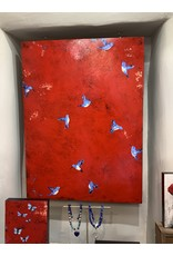 """Annette Colby - Painter 'Edge of Heaven' - 36"""" x 48"""" - Annette Colby"""
