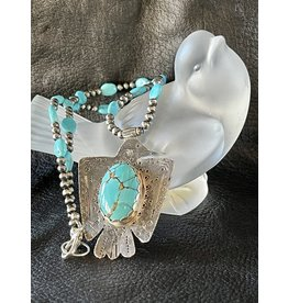 Annette Colby - Jeweler Royston Thunderbird, Sleeping Beauty Necklace