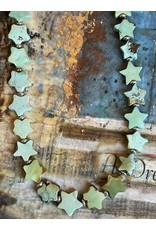 Handcut Turquoise Star Necklace by Annette Colby