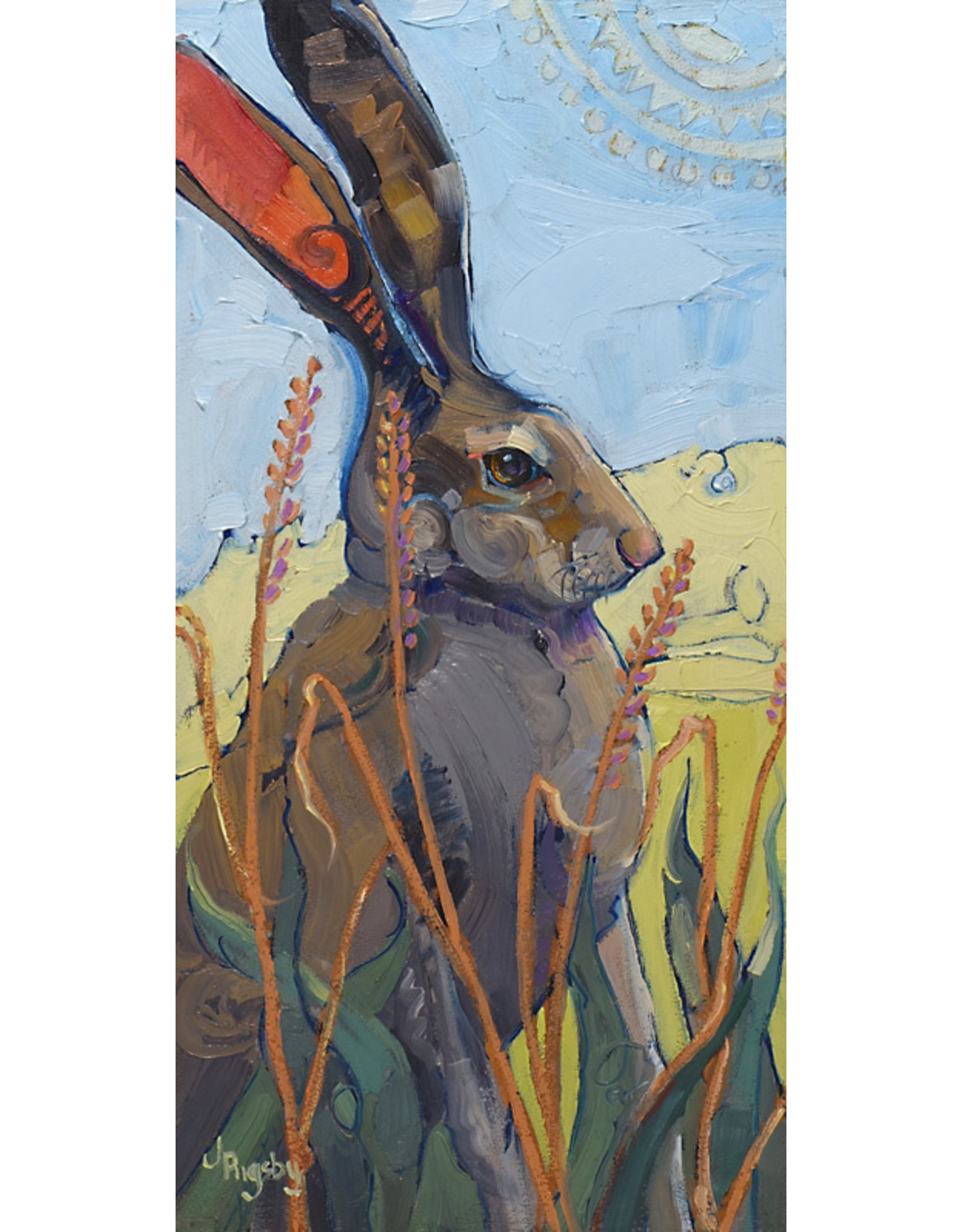 Jody Rigsby Painting Bunny - Jody Rigsby