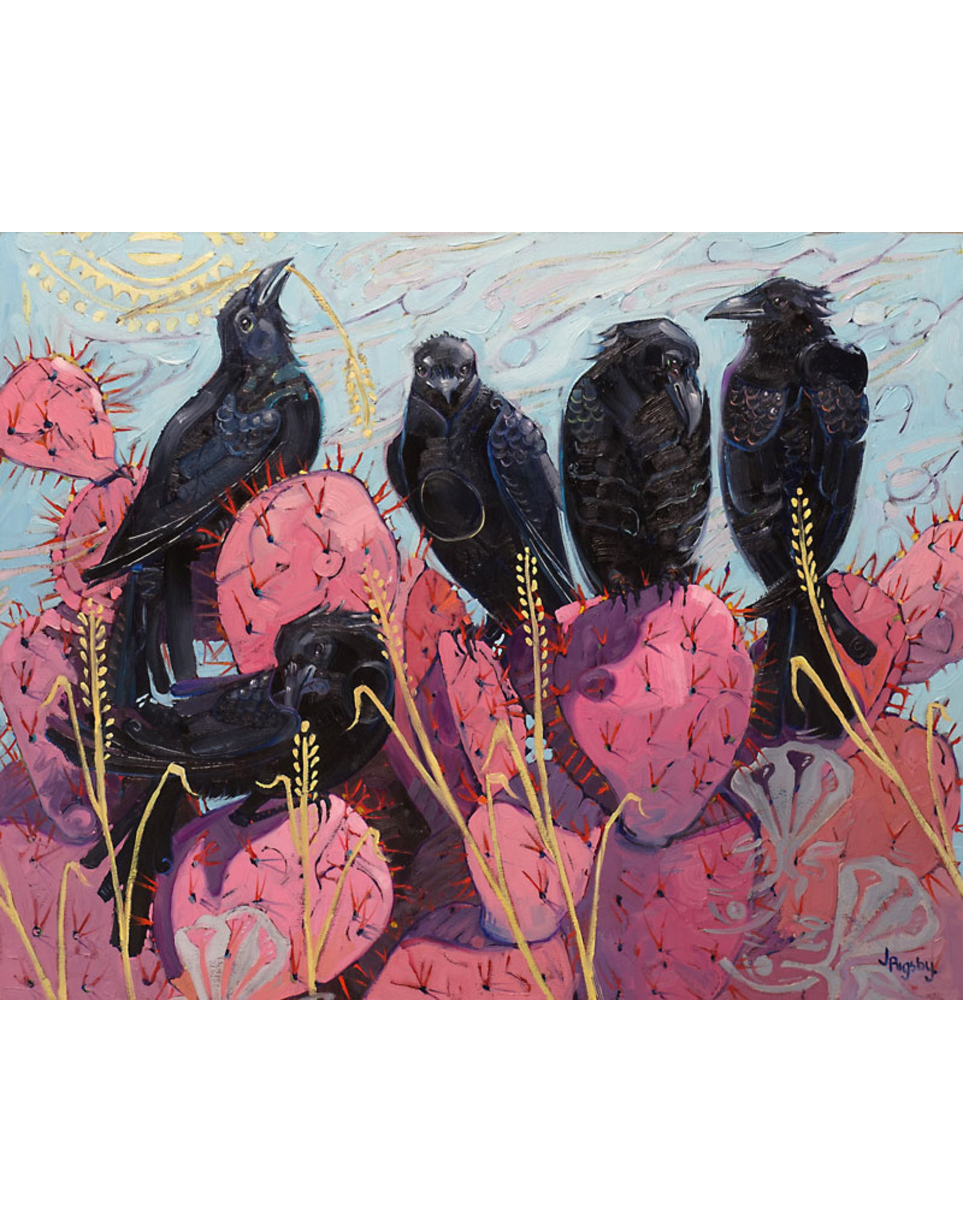 Jody Rigsby Painting The Caws - Jody Rigsby