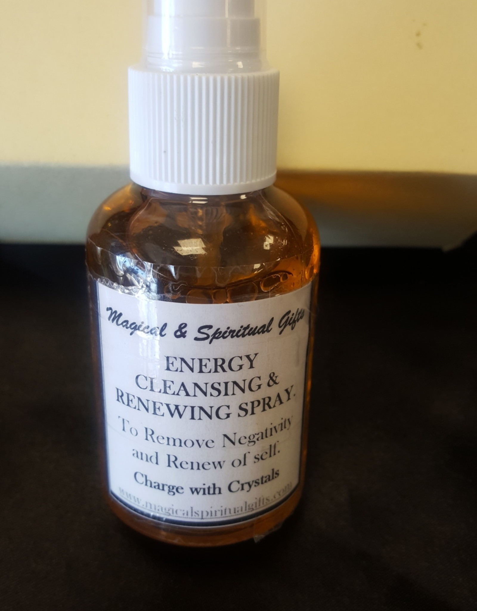 Energy Cleansing & Renewing Spary 2oz