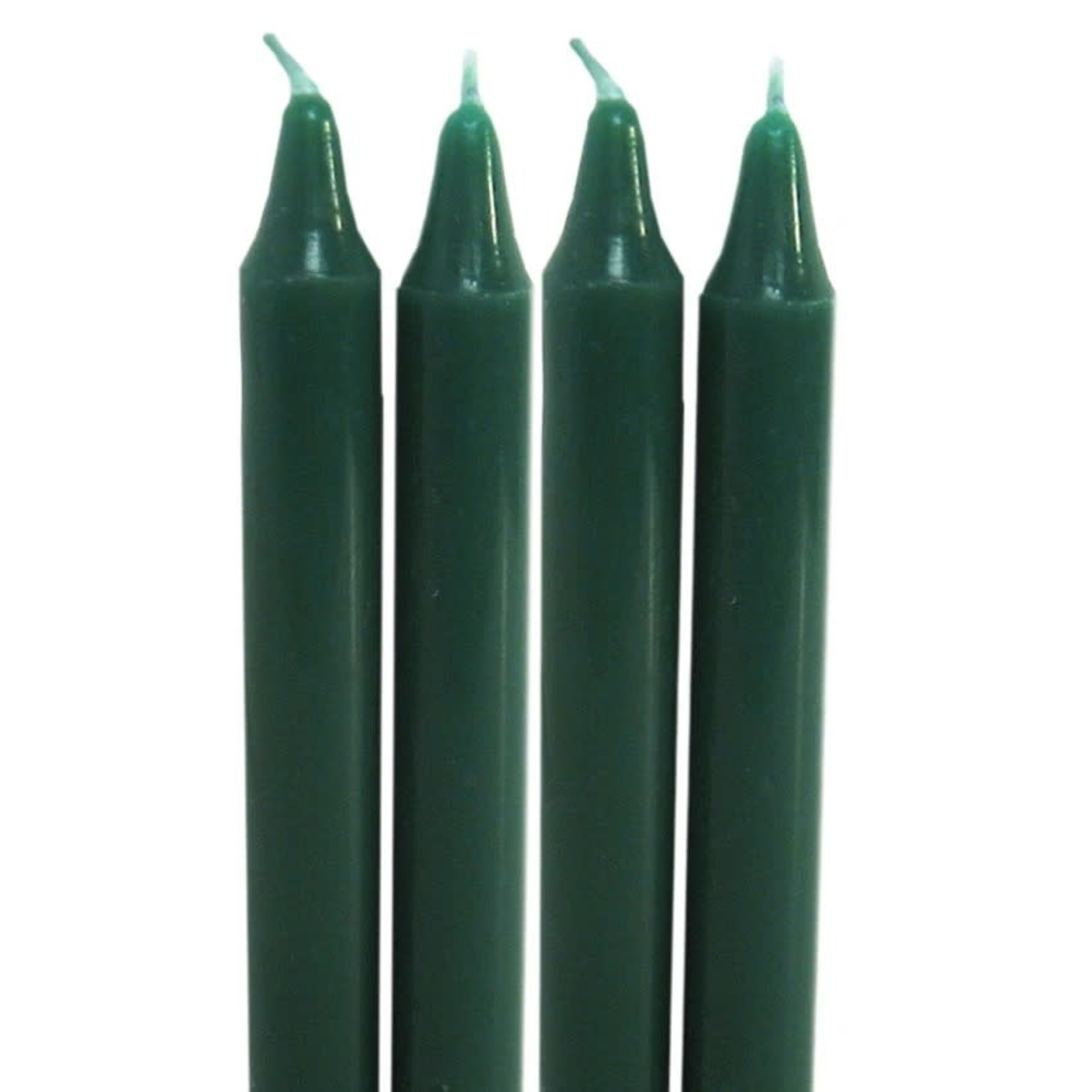 Chime Candle Dark Green 4 pk