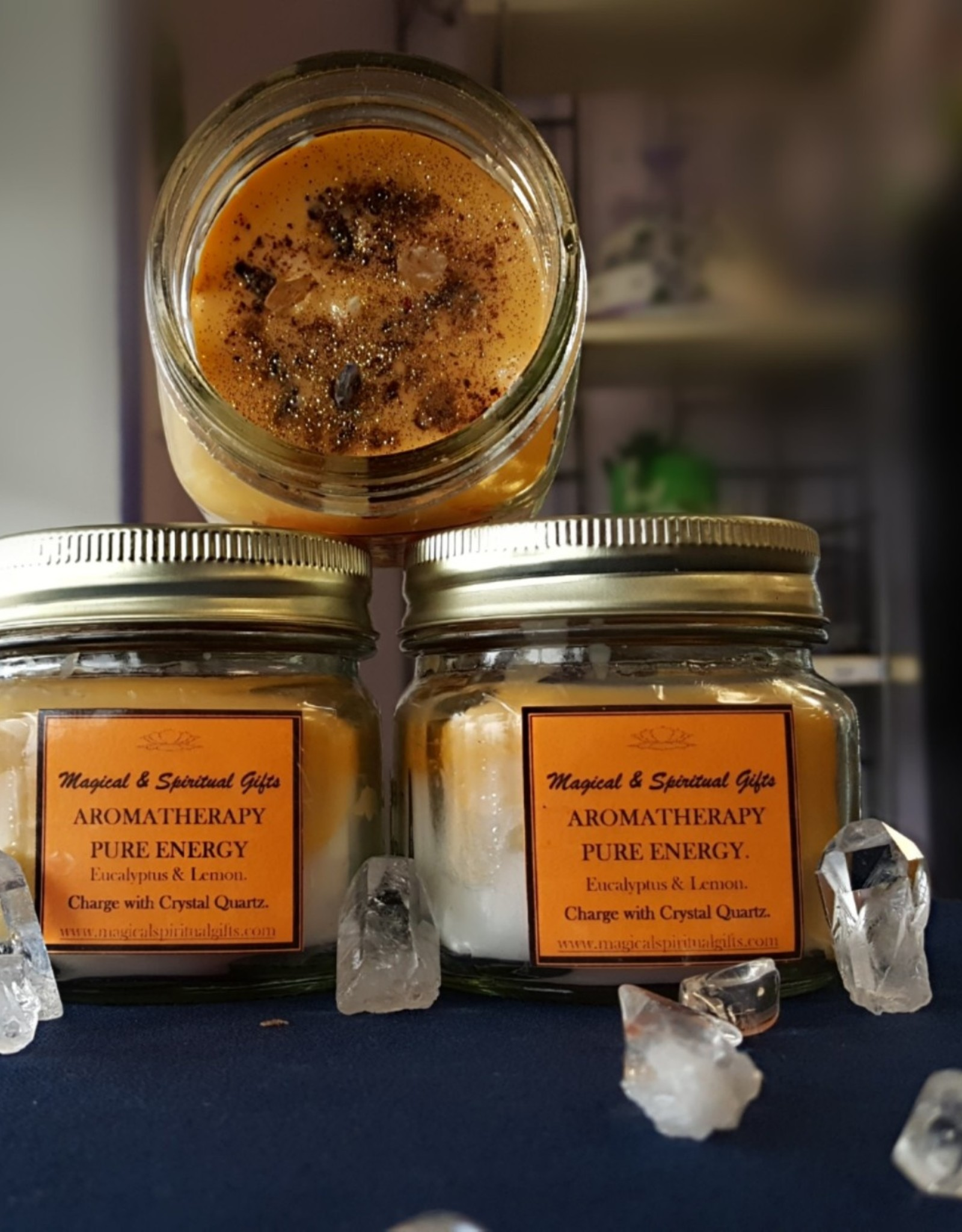 Pure Energy Aromatherapy Candle